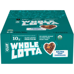 CLIFF WHOLE LOTTA SALTED DARK CHOC