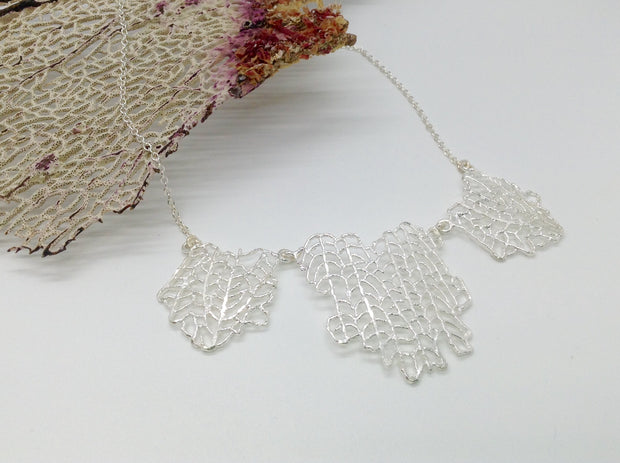 Fan Coral Necklace