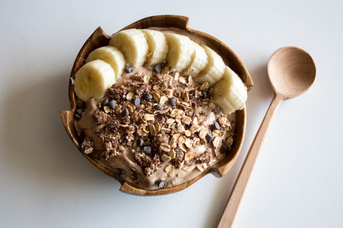 Chocolate Chunky Monkey Smoothie Bowl
