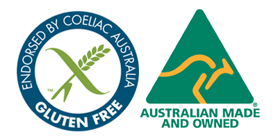 Coeliac Endorsement & Australian Made Endorsement