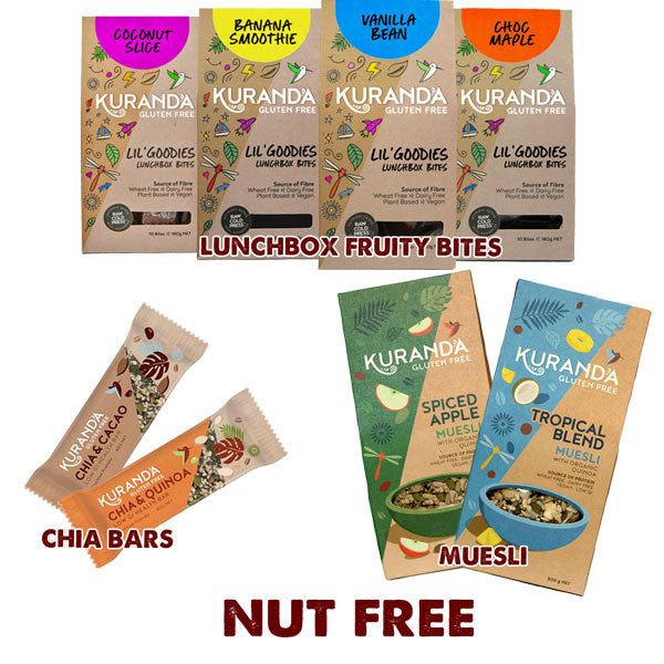 Nut Free Snacks & Muesli