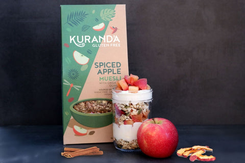 Spiced Apple Muesli Kuranda Wholefoods