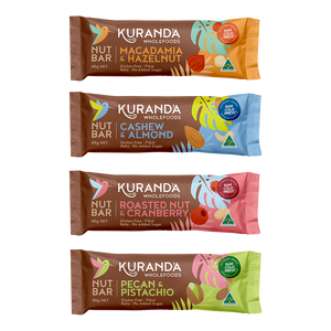 Kuranda Wholefoods Gluten Free Nut Bar Packs