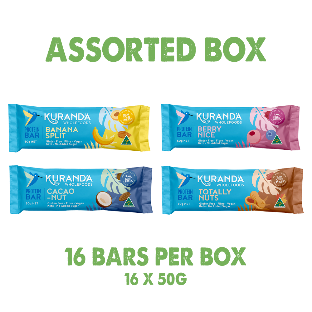 Protein Bars Assorted