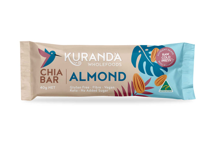Chia & Almond Low GI Snack Bar