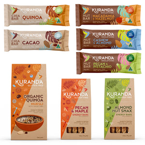 fruit free muesli and snack value bundle | Kuranda wholefoods