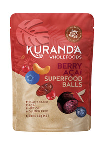 Berry Acai Superfood Protein Balls