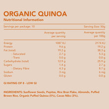 Load image into Gallery viewer, Organic Quinoa Gluten Free Muesli