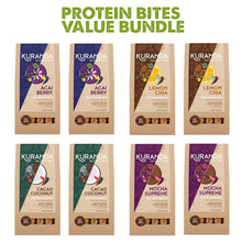 Load image into Gallery viewer, Protein Bites Value Bundle 8 packs