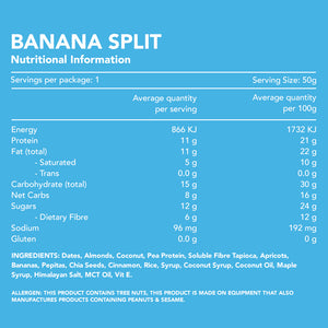Banana Split Protein Bar