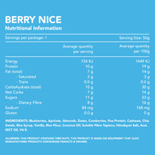 Load image into Gallery viewer, Berry Nice Superfood Protein Bar