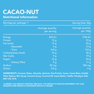 Cacao Nut Protein Bar