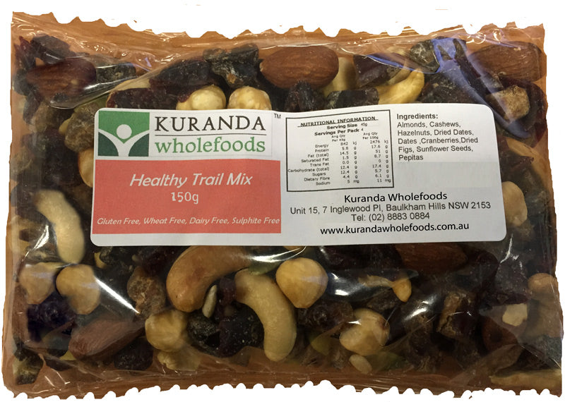 Kuranda Gluten Free Healthy Trail Mix 500g