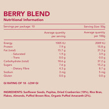 Load image into Gallery viewer, Berry Blend Gluten Free Muesli