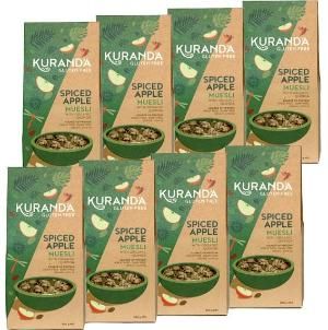 Kuranda Gluten Free Spiced Apple Muesli - Nut Free Recipe, Low GI, Wheat Free, Dairy Free, Vegan