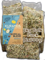 Kuranda Gluten Free Tropical Blend - Nut Free, Vegan, Wheat Free, Dairy Free, Plant Based