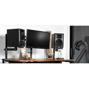 Wavebone Gemini Height-Adjustable Table Top Studio Monitor Stands (PAIR)