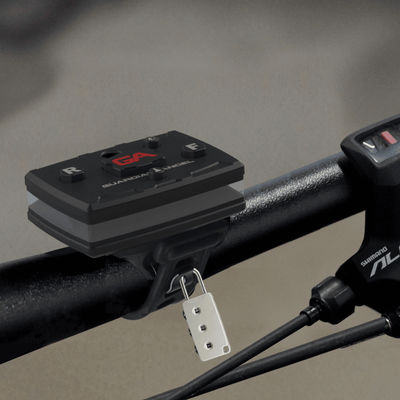 Bike/Rail Rubber Strap Mount with Magnetic Mount - Wescue - We Help You Rescue