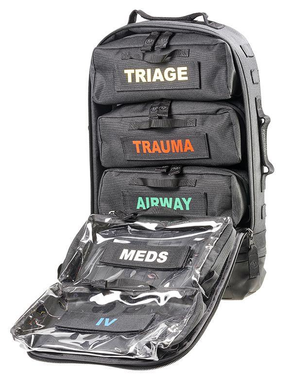 MERET SAVIOR7™ PRO Combat Trauma System - Wescue - We Help You Rescue