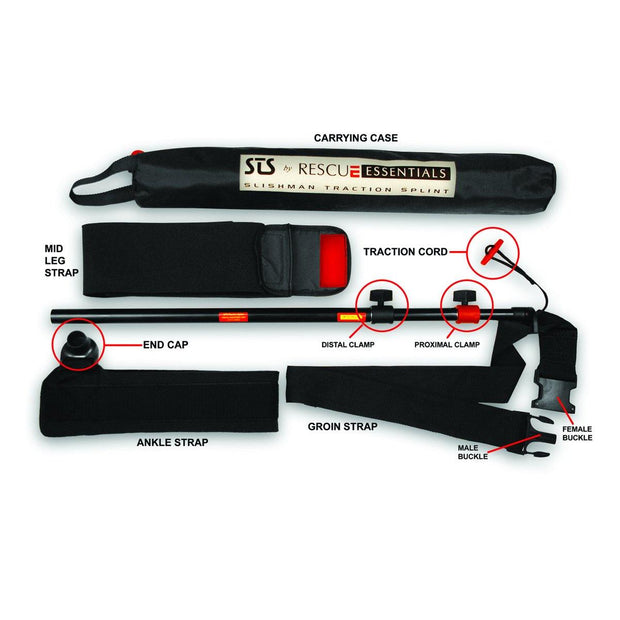 Slishman Traction Splint - STS - Wescue - We Help You Rescue