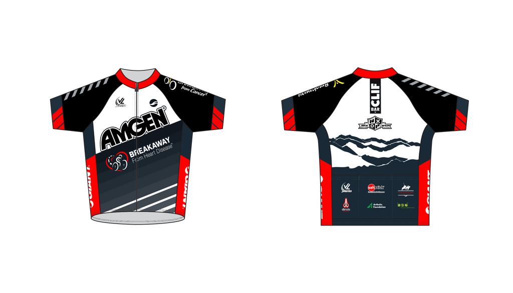 Men's Team Stretch Jersey - AMGEN GIVEAWAY