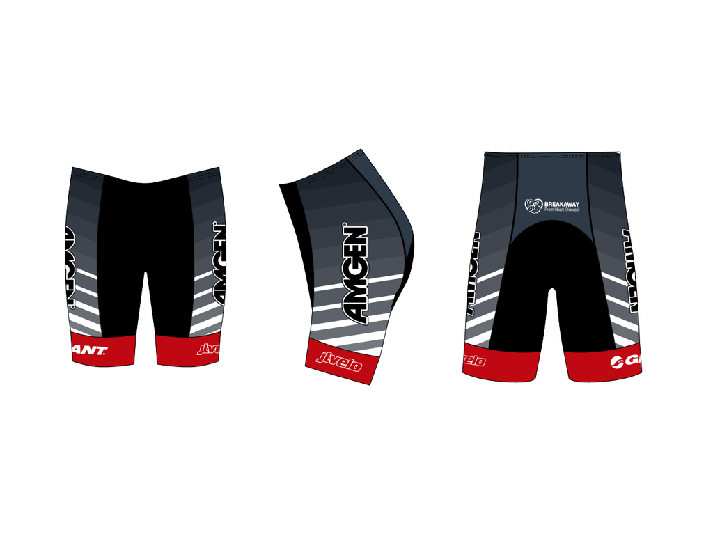 Men's Team Ringer Short - AMGEN