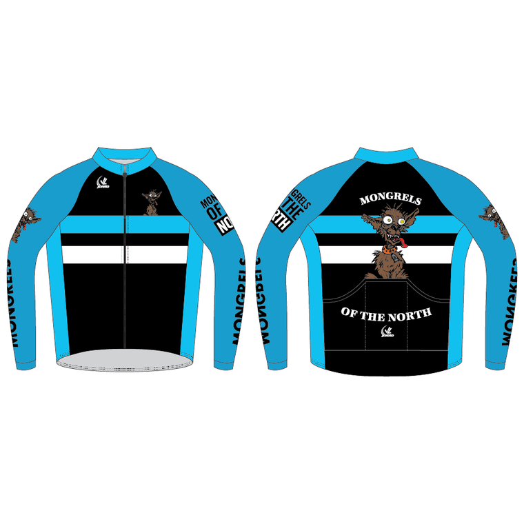 Men's Paceline Pro Long Sleeve Jersey - MONGRELS OF THE NORTH