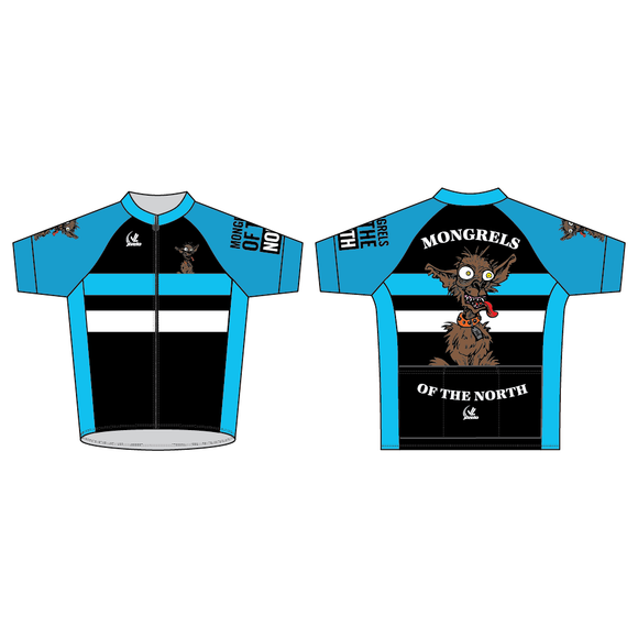 Men's Team Stretch Jersey - MONGRELS OF THE NORTH