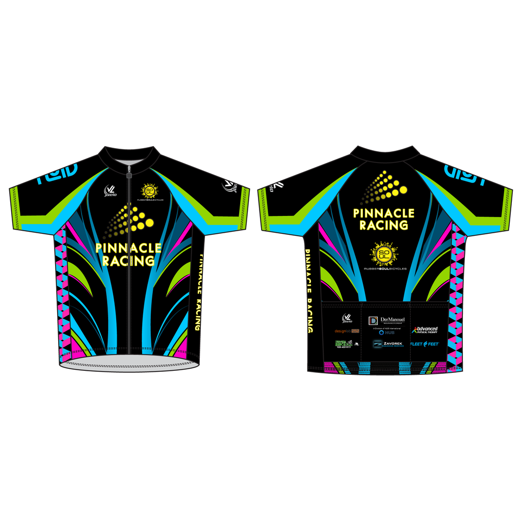 Men's Team Stretch Reflective Jersey - PINNACLE