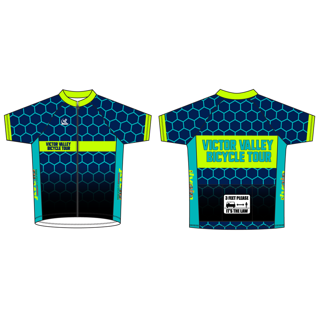 Men's Team Stretch Refelective Jersey - VICTOR VALLEY
