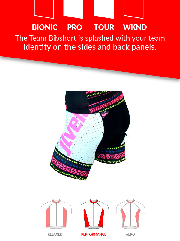 Women's Team Bibshort