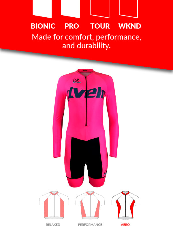 Women's Long Sleeve Ringer Skinsuit