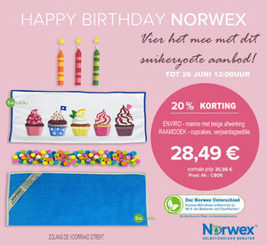 Happy Birthday aanbieding