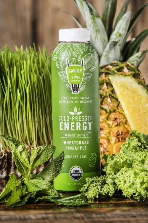 Wheatgrass Pineapple Energy Elixir