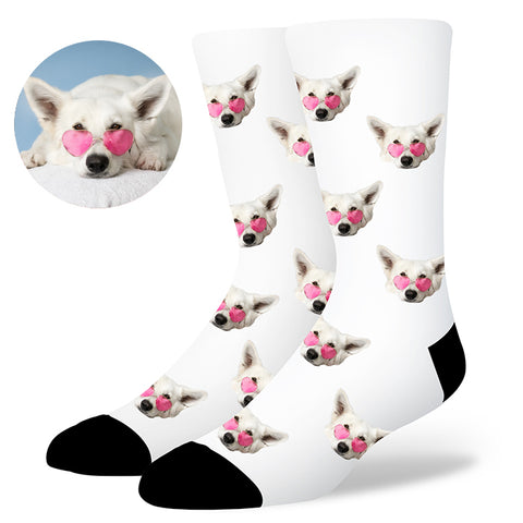 Custom Dog Socks, , EverLighten