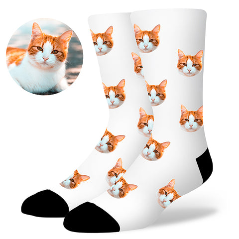 Custom Cat Socks, , EverLighten