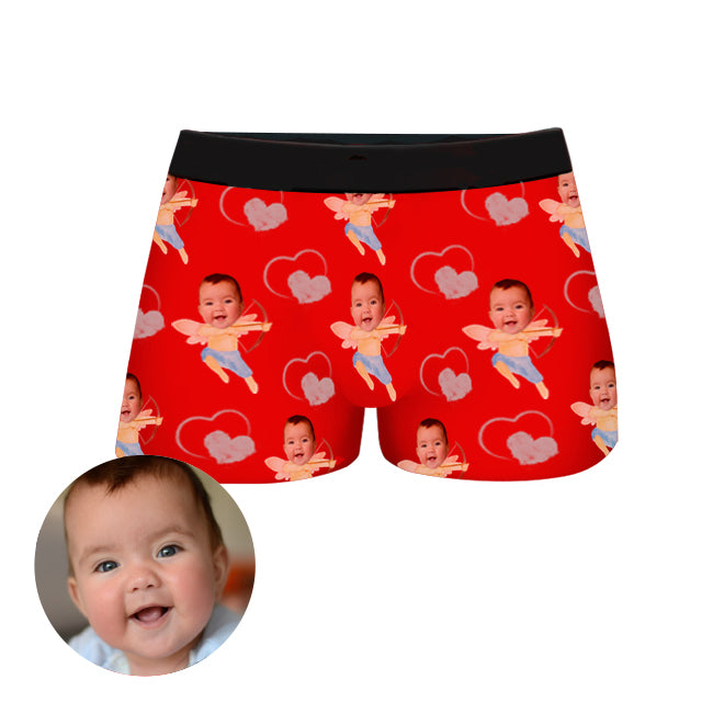 Custom Baby Face Boxer Shorts, , EverLighten
