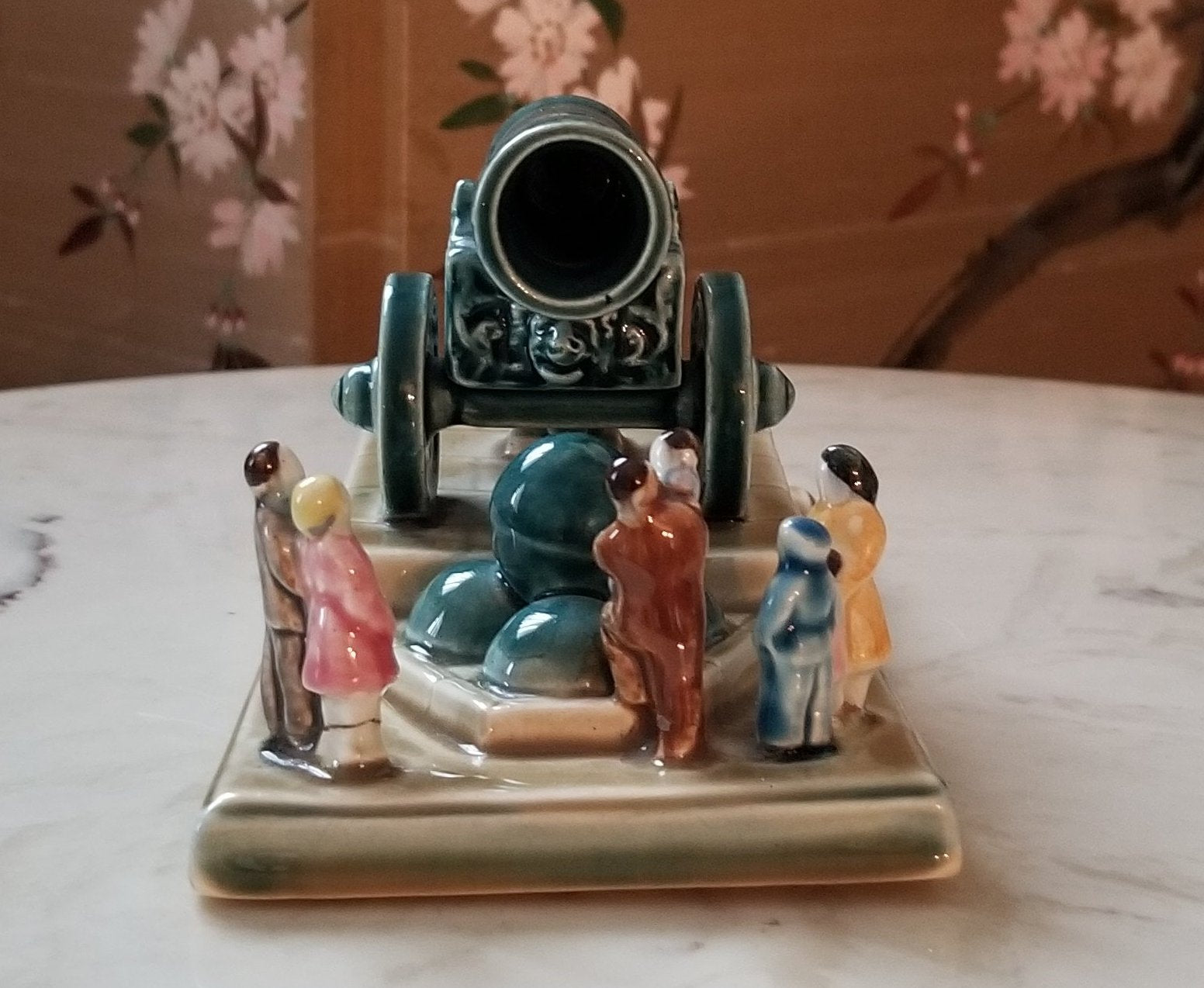 Konakova Zik Ceramic Staue of Tsar Cannon - Made in USSR