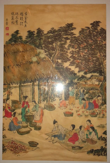 Antique Korean Painting in the Traditional Style