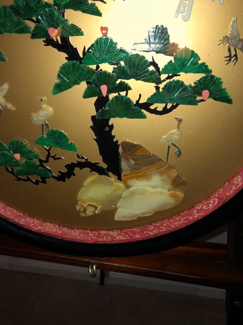 Shibayama style Shadow Box Wall Hanging