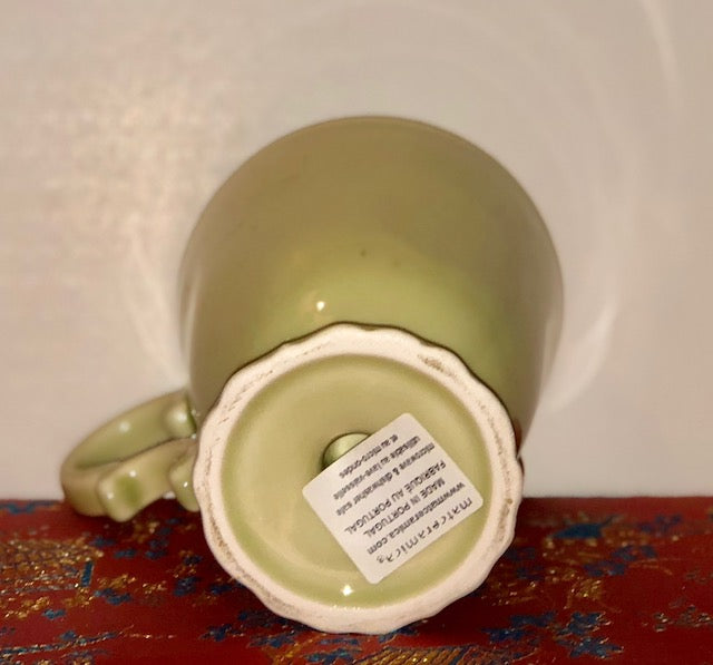Vintage Matceramica Coffee Mug Made in Portugal
