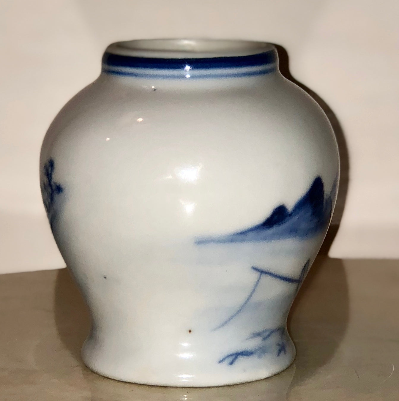 Blue de Hue Ginger Jar - Wanyu