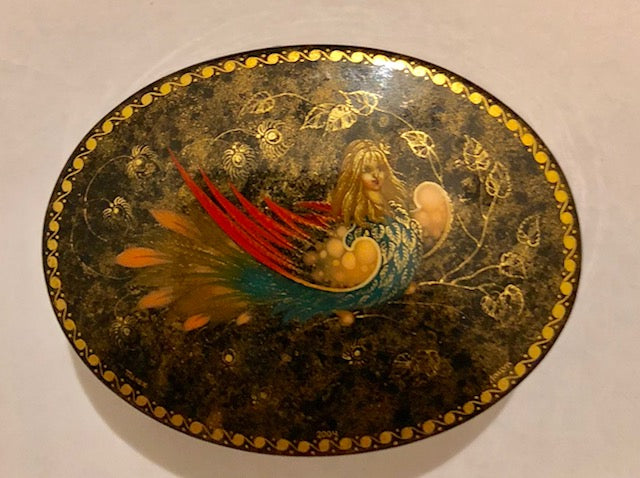 Palekh Russian Lacquer Box