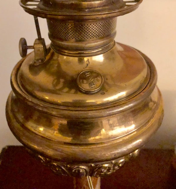 Antique Bradley and Hubbard Parker Lamp - Converted