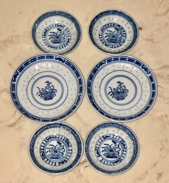 Rice Grain Chinese Porcelain Dishes