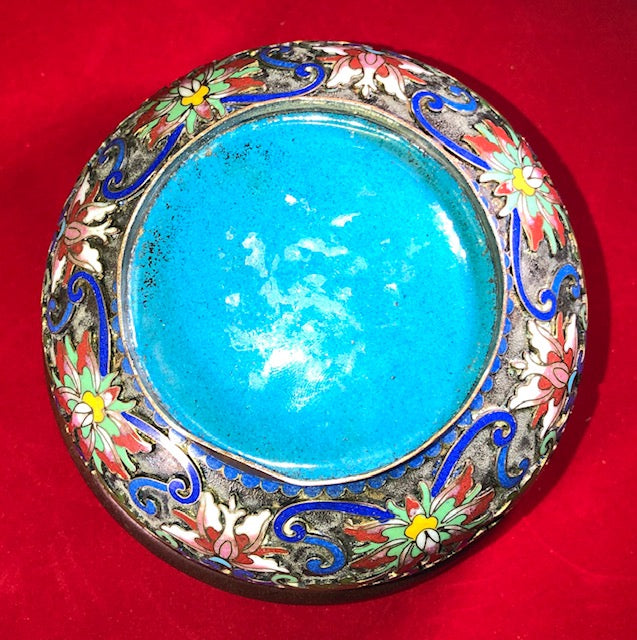 Chinese Cloisonne and Champleve Box