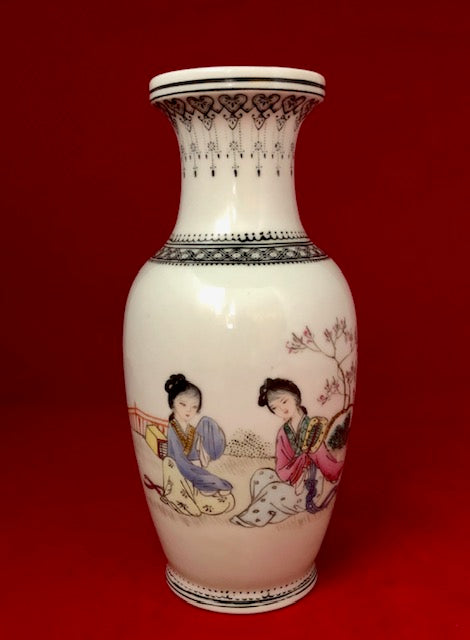 20th Century Famille Rose Porcelain Vase
