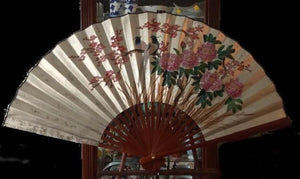 Chinese Hand Painted Wall Fan