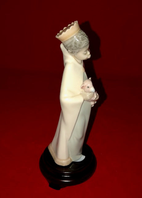 "Lladro Black Legacy 4675 ""King Balthasar"""
