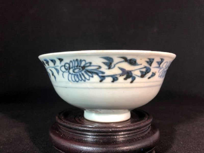 Ming Blue and White Chinese Porcelain Bowl